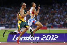 Oscar Pistorius. talk about inspirational.