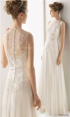 lace wedding dress. idk this is kind of pretty