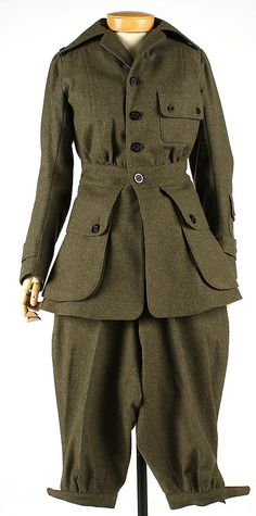 1917 Wool Uniform, Abercrombie and Fitch Co., American.