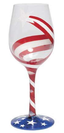 Freedom Wine Glass by Lolita