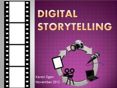 Digital Storytelling apps and websites by Karen Ogen