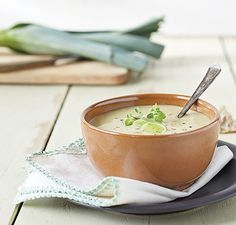 Leek, Artichoke and Potato Soup