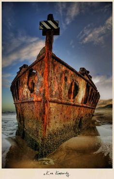 Shipwrecked on a Desert Island in Australia ;-)