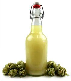Homemade Hop Ginger Brew