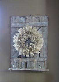 Wood you like to craft?: Barn Door Shelf