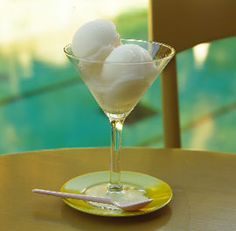 Tequila Sour Sorbet with Basil | Recipe | Sorbet, Tequila and Basil