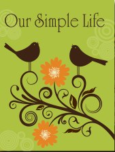 Living a simple life by homesteading & homemaking