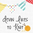Devin Likes to Knit