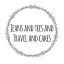 Jeans.Tees.Travel.Cakes.