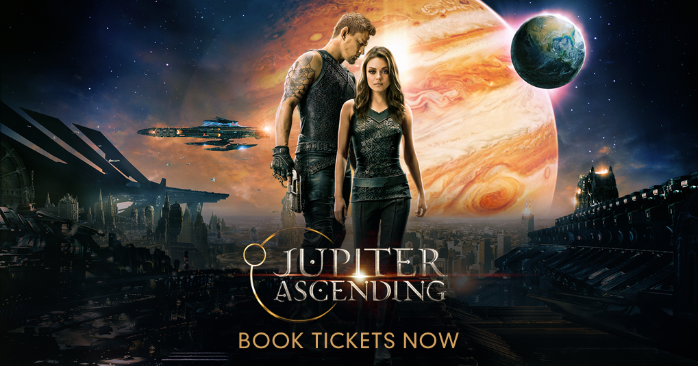 Jupiter ascending release date in Brisbane