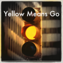 yellow light means GO FASTER