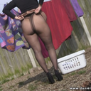Daniella in pantyhose
