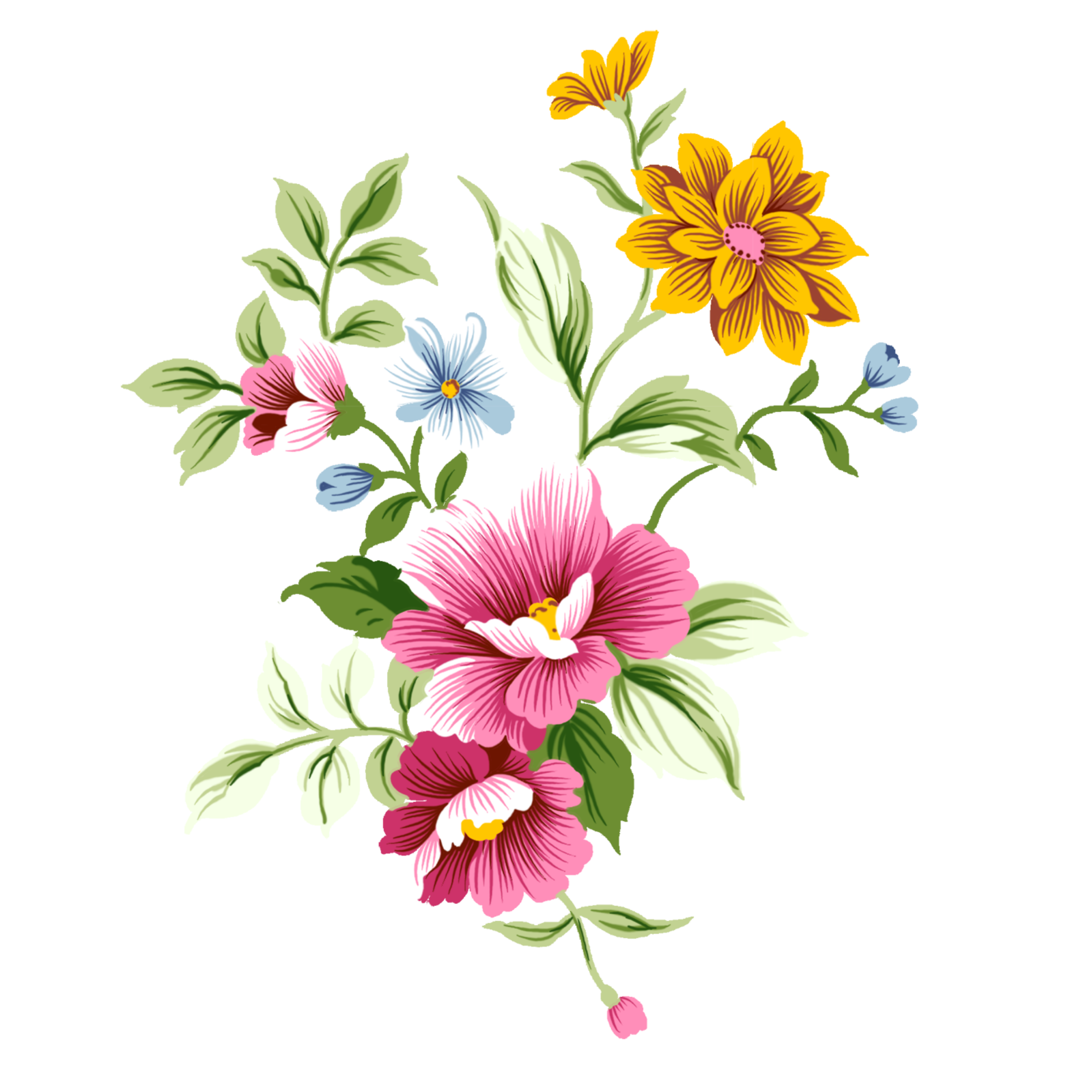 Discover The Coolest Flowers Decor Sprine Primavera Tumblr Collage Perfect Colorful Nuture Sticker Perf Pretty Flower Art Flower Art Flower Painting