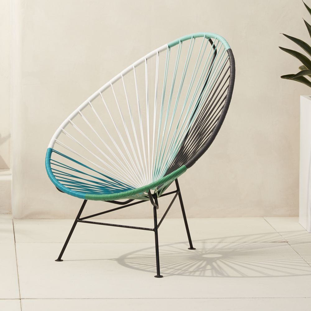 Acapulco chair cb2 - Acapulco Lounge Chair