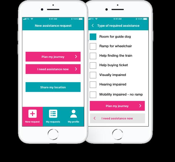 transreport app