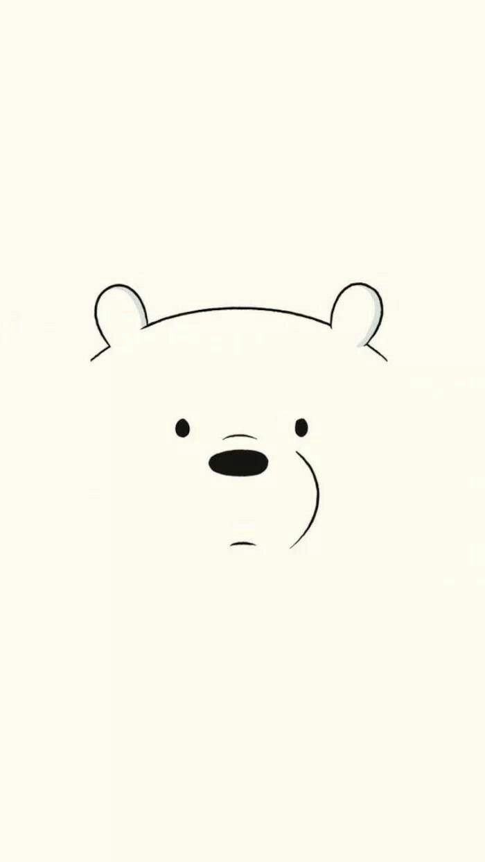 Cute Drawing Polar Bear Wallpaper Android Fondo De Polar We Bare Bears Wallpapers Bear Wallpaper