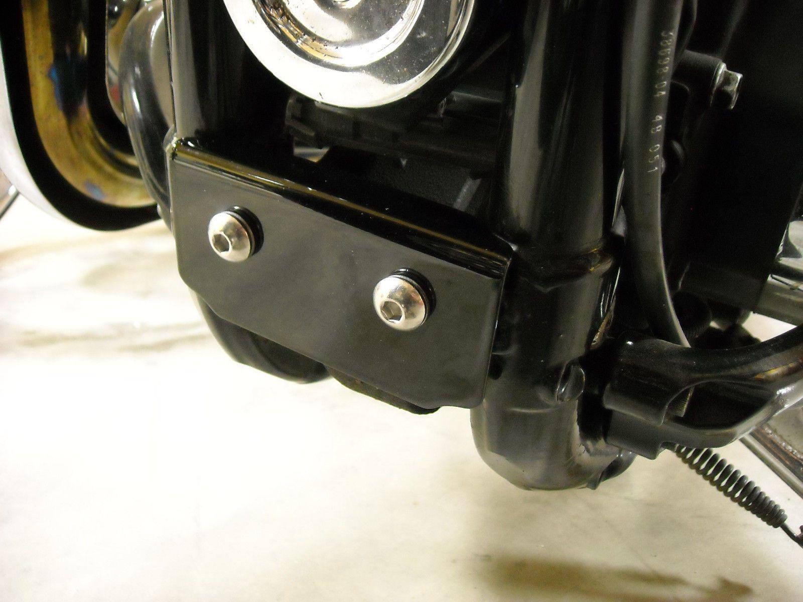 Harley Sportster Lower Motor Mount Cover 2004 To 2016 Black Harley Davidson Sportster Sportster Motor