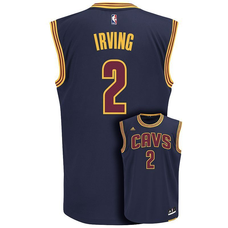 online store 0e835 9664c Men's adidas Cleveland Cavaliers Kyrie Irving NBA Jersey ...