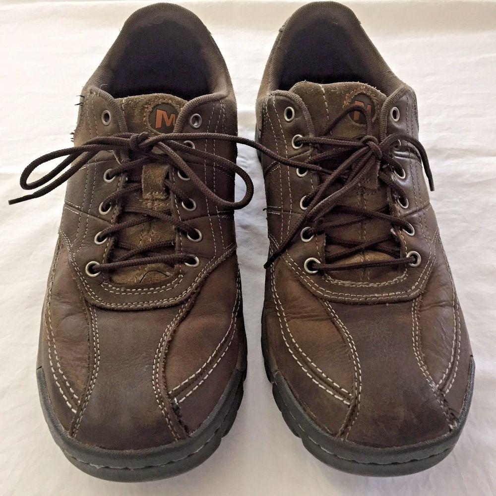 Merrell Size 12 Shoes Men Brown Walking