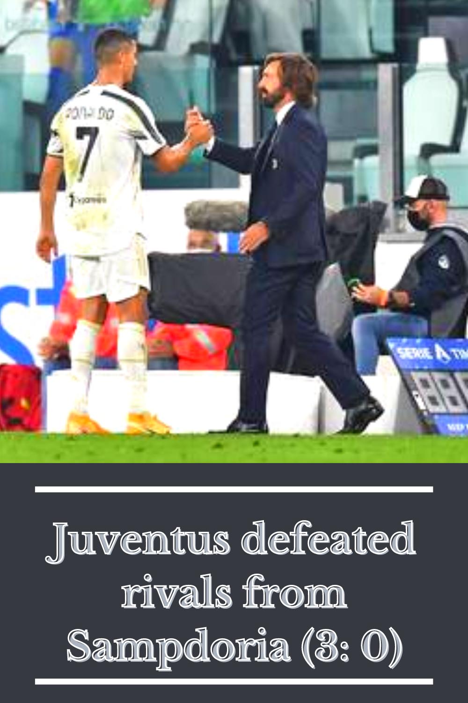Juventus Defeated Sampdoria At The Start Of The Italian Championship In 2020 Juventus Juventus Stadium Championship Football