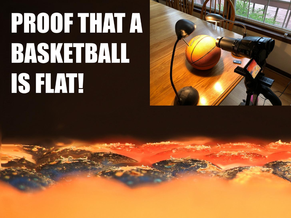 Behind The Scenes Flat Basketball Proof Memes Of The Day Earth Memes Earth Day Meme