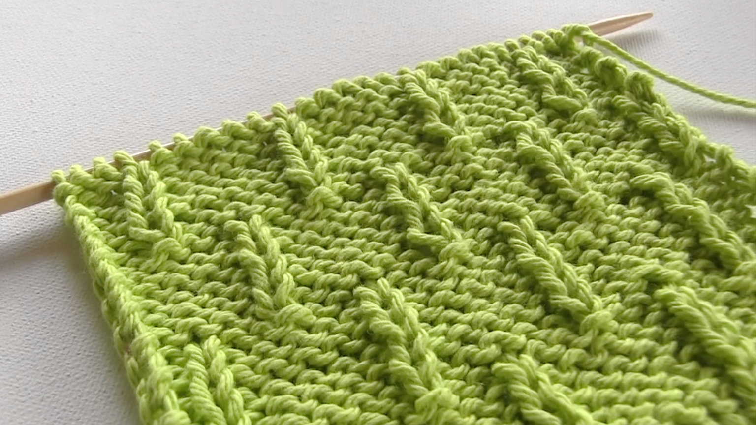 Photo of How to Knit the Caterpillar Stitch
