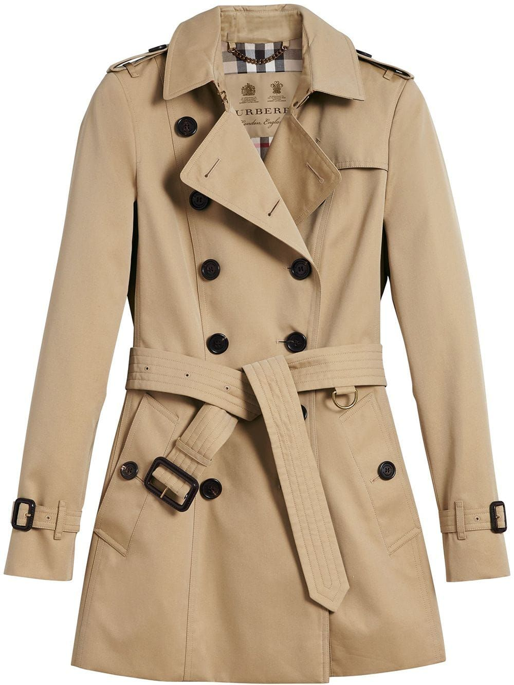 Burberry The Chelsea Short Trench Coat Brown Short Trench Coat Trench Coats Women Trench Coat