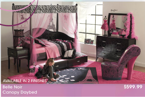 Superieur Rooms To Go Kids FABULOUS U0026 FEMININE Paris Theme!