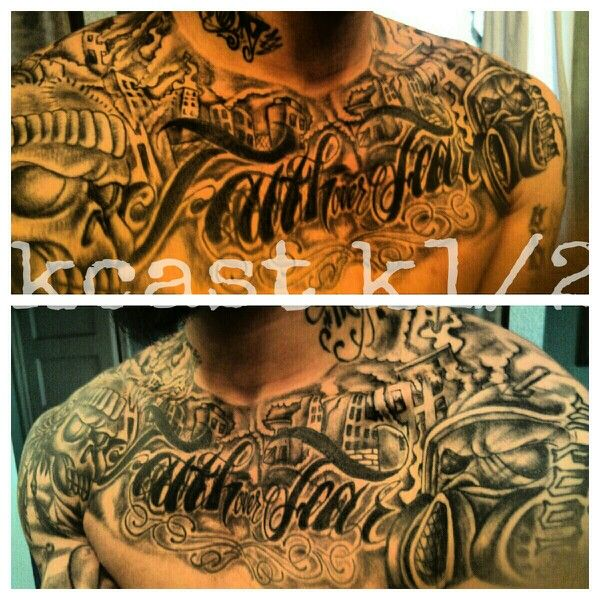 Cover Up Freestyle Faith Over Fear Philly Tattoo Phevah Ibginc Ink Tattoo Fear Tattoo Tattoos