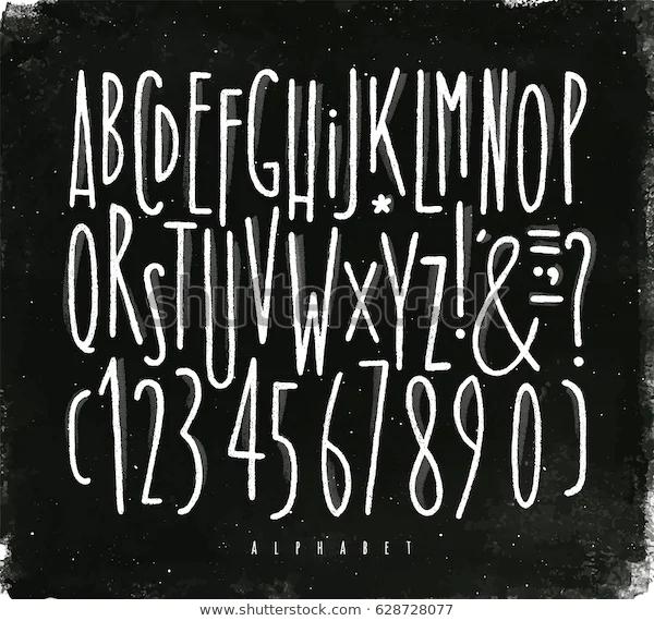 How To Make Your Own Printable Chalkboard Sign Yellowblissroad Com Chalkboard Fonts Chalkboard Lettering Chalkboard