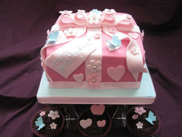 Birthday Cakes Photo Gallery ~ Pretty cakes for women women s birthday cake gallery baby