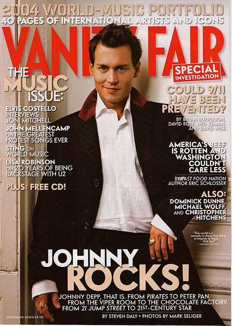 fair vanity Johnny depp
