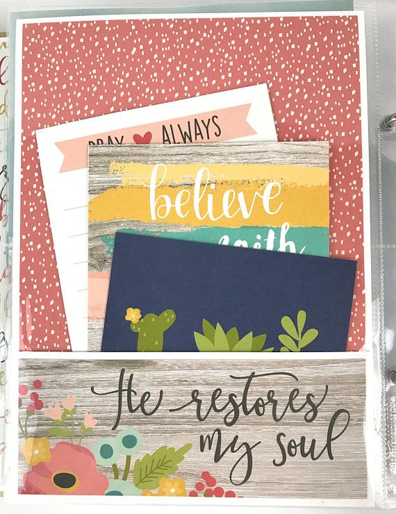 Family faith scrapbook mini album do it yourself kit or premade solutioingenieria Image collections