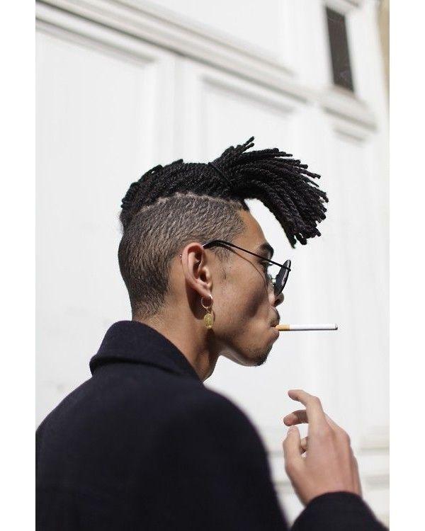 coiffure homme queue
