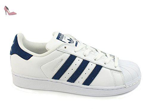 adidas Superstar, Chaussures de sport homme blanc Blanc