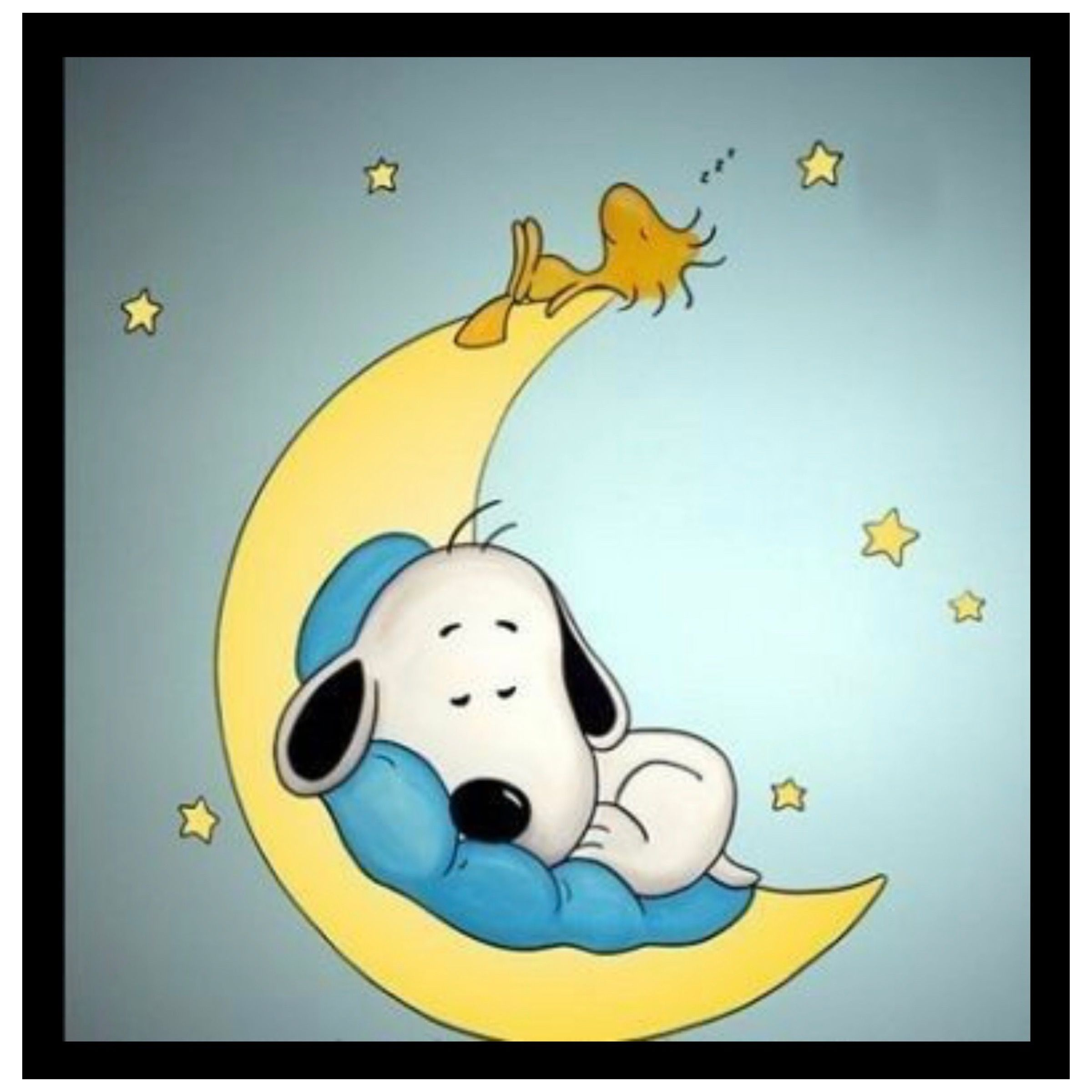 Good Night With Images Snoopy Sleeping Baby Snoopy Snoopy