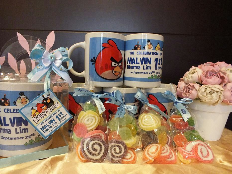 Angry birds - Goodie bags - goody bags for kids party - birthday goodie bags - birthday gift ideas - party favors
