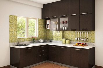 L Shaped Modular Kitchen Designs Catalogue Google Search Home