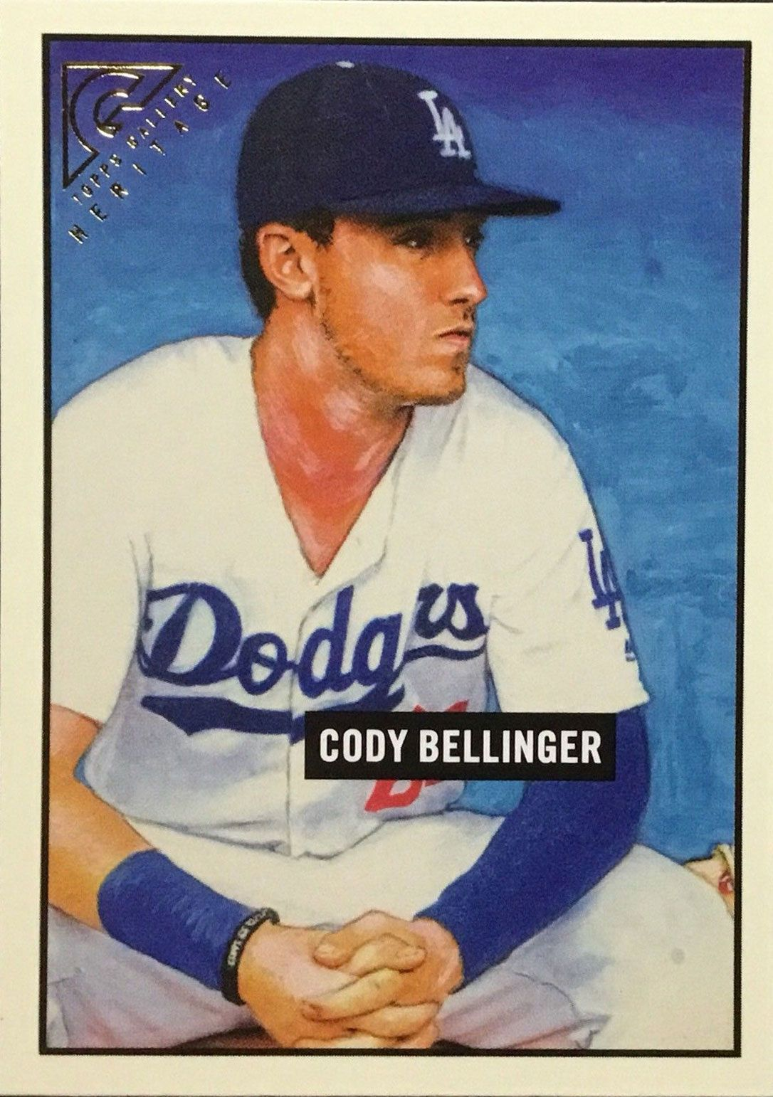 2017 Topps Gallery All The Dodgers Cards Cody Bellinger