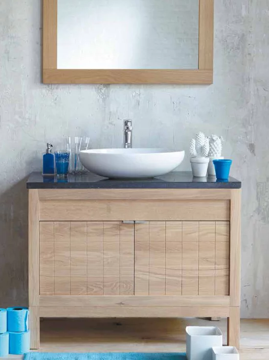 Line Art Solid Wood Modern Bathroom Vanities Accessories Bathroom Vanity Accessories Modern Bathroom Vanity Oak Bathroom Vanity