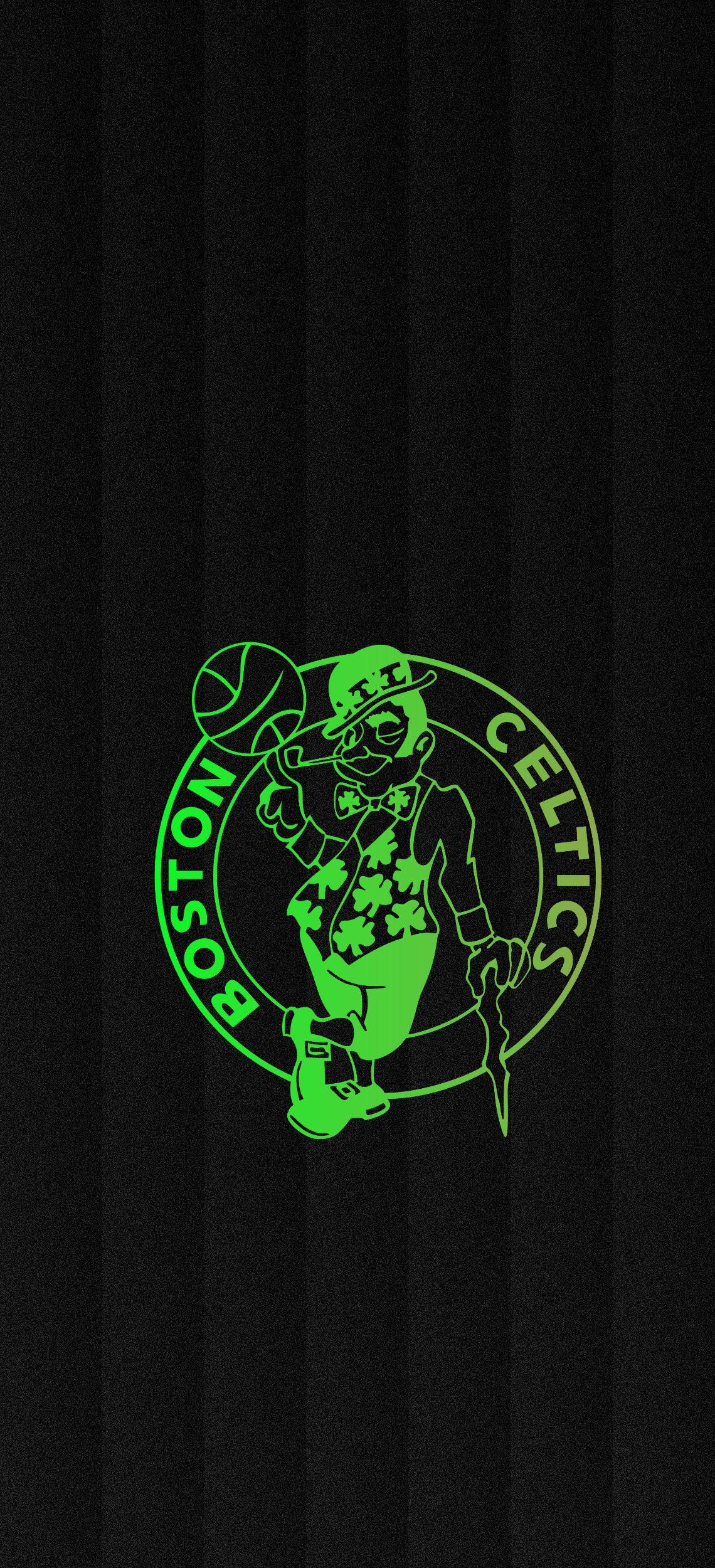 Boston Celtics Gradient Background Papel De Parede Wallpaper Planos De Fundo Basquete