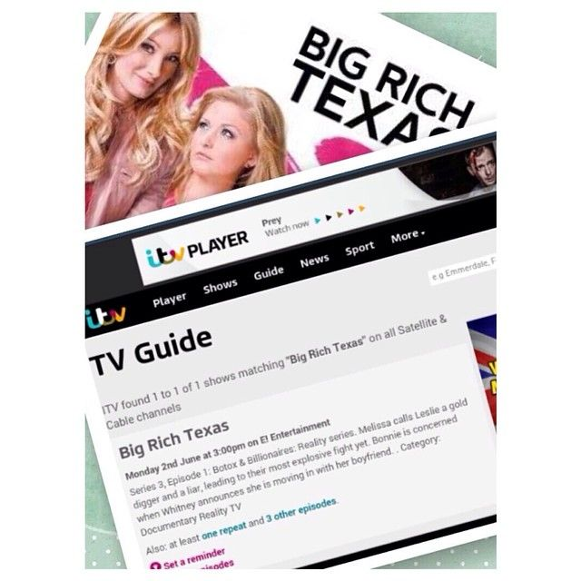 Big Rich Texas Season 3 In The Uk With Leslie Birkland And Kalyn Braun Big And Rich Texas Leslie