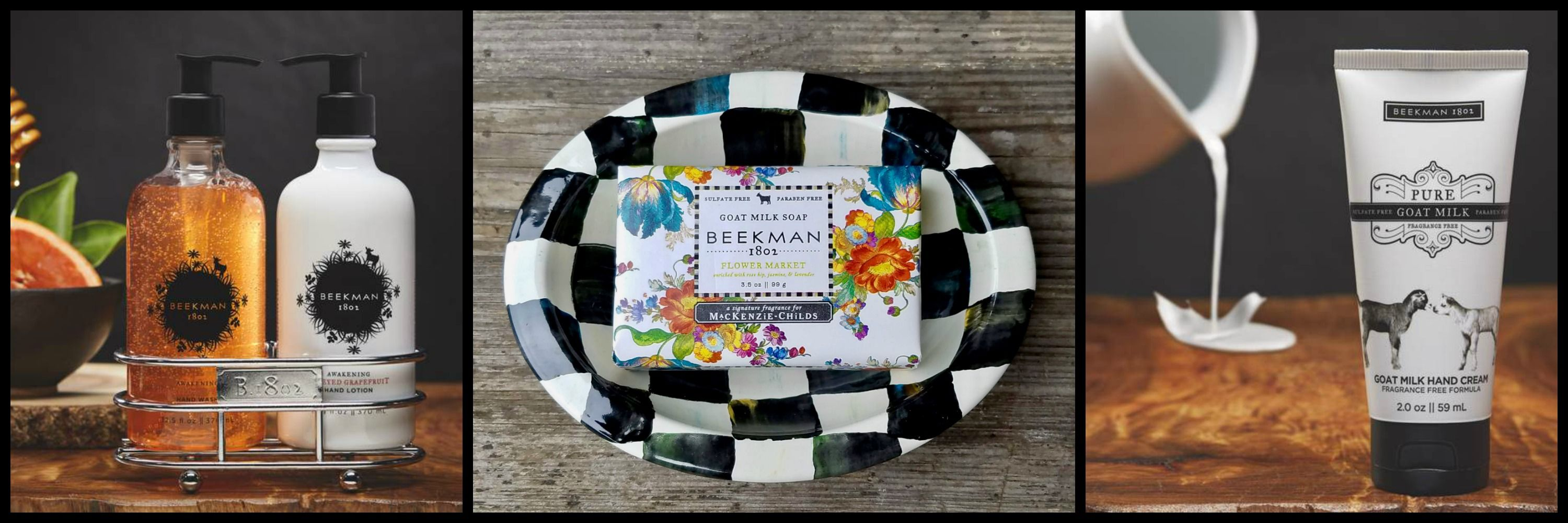 No Better Way To Pamper Yourself Than With Beekman 1802 Goat Milk