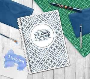 Wedding Planner Planning Diary Journal Book Navy Blue Cover Ebay