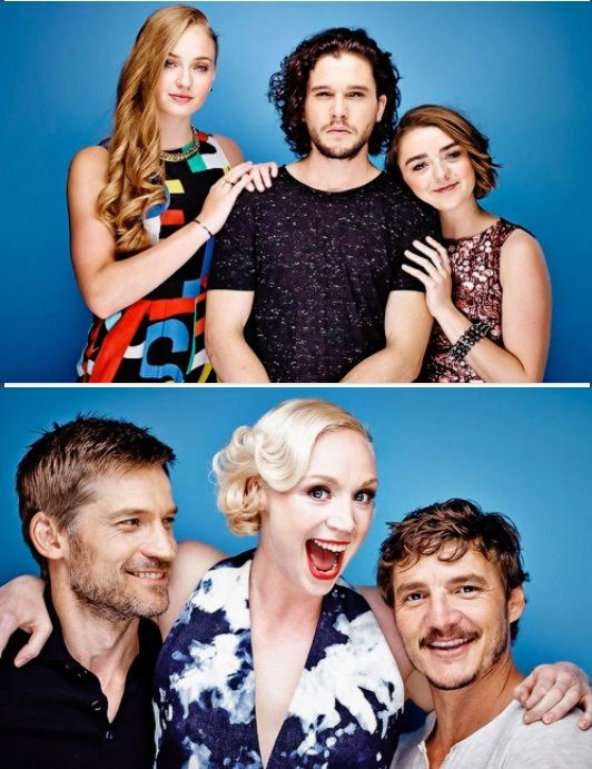 Game Of Thrones cast SDCC 2014 via Entertainment Weekly