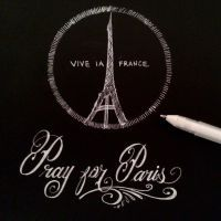 Pray for Paris by joseluis81