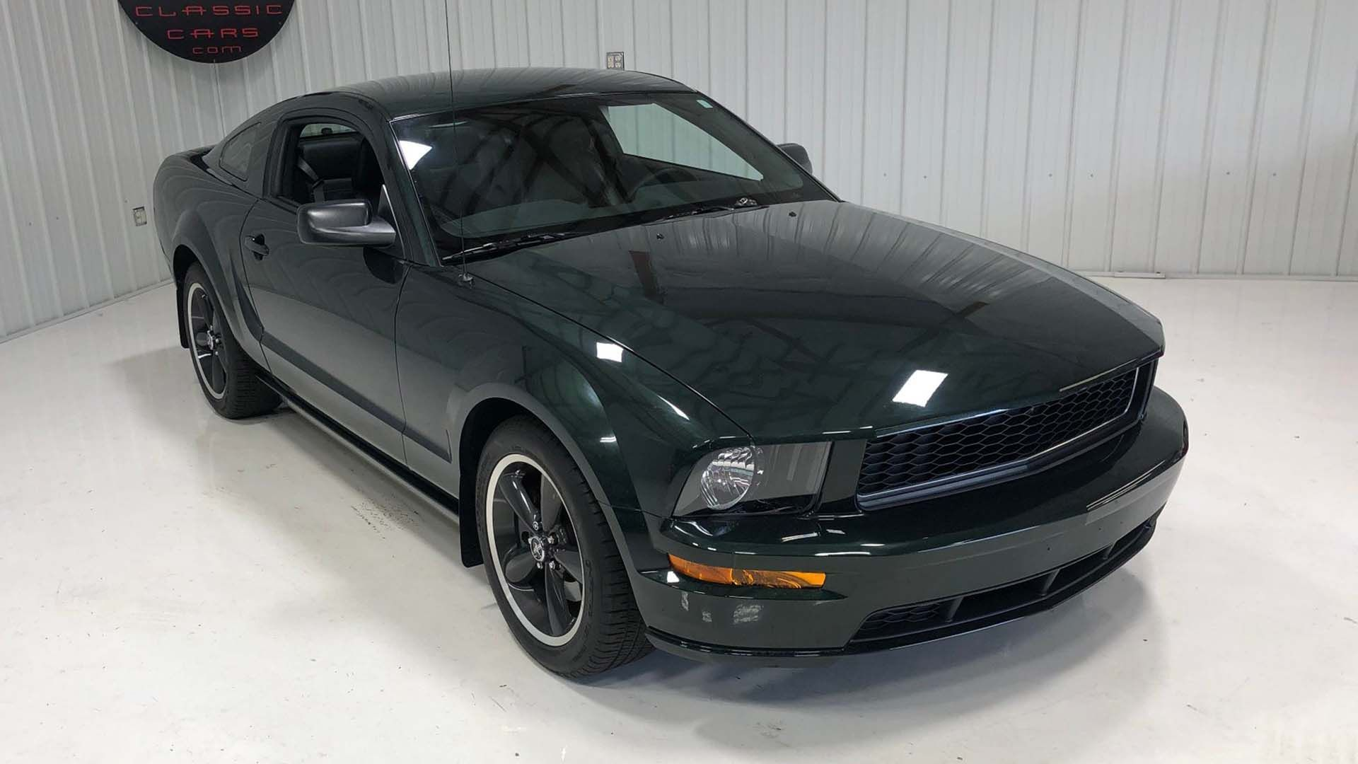 Add One Of The Last 2008 Bullitt Mustangs To Your