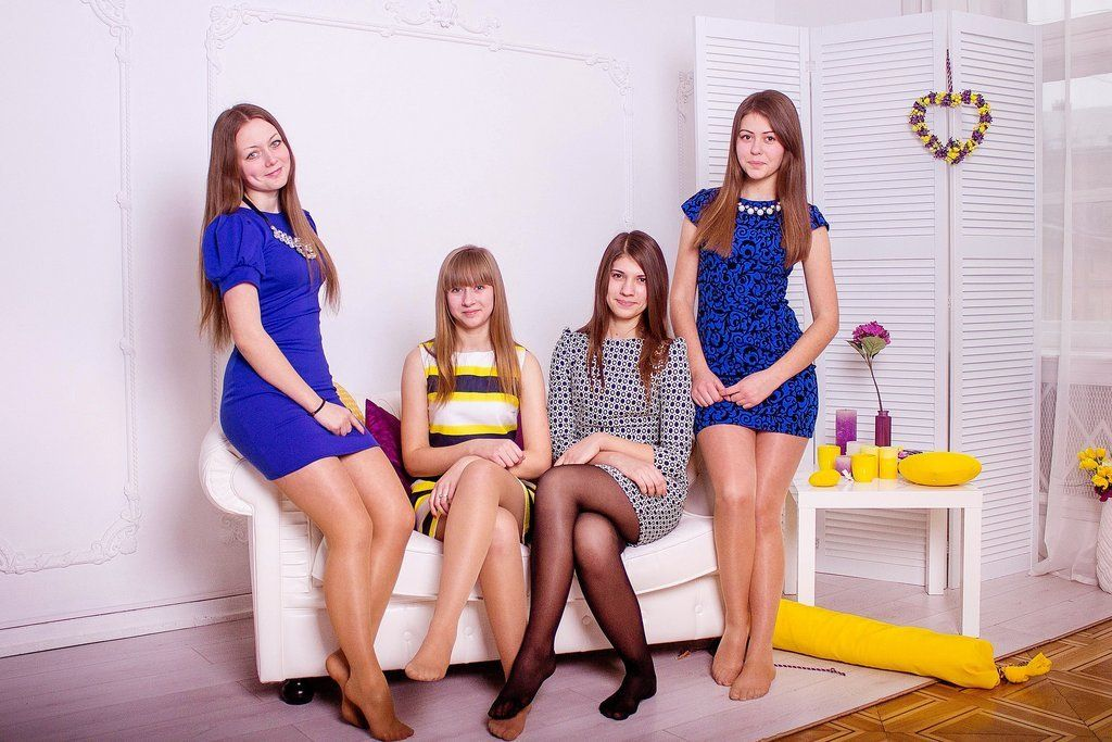Group teens, adult content orgy