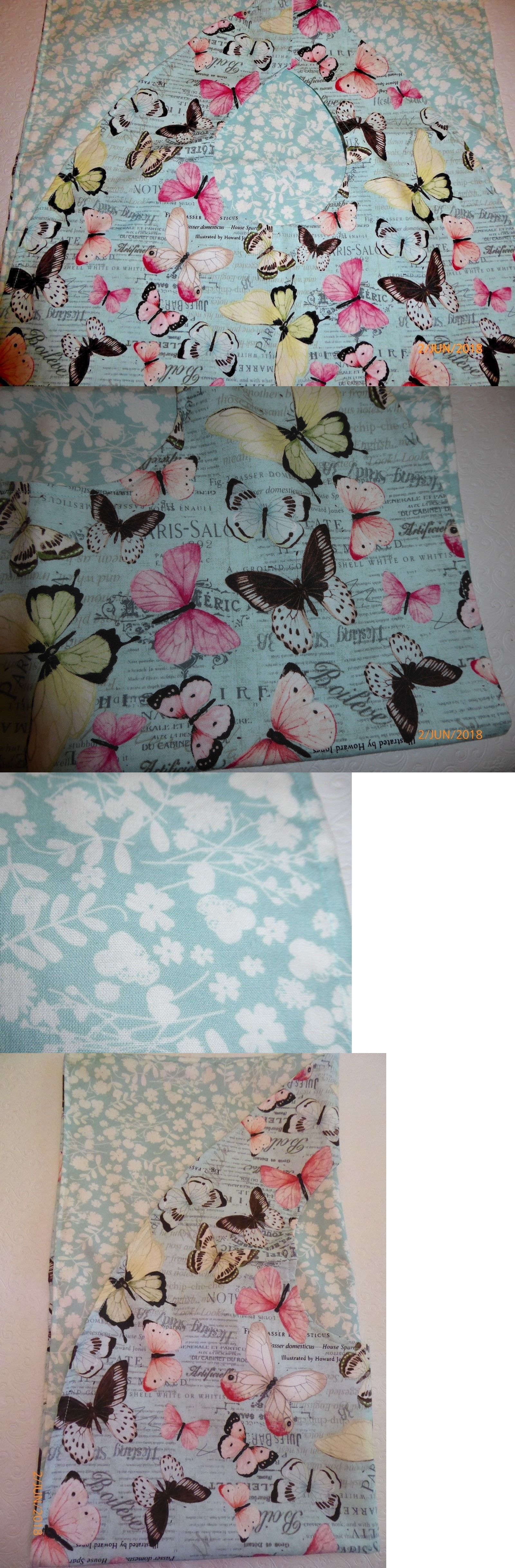 Adult Bibs / cover-ups for adults, seniors, disabled butterflies on ...