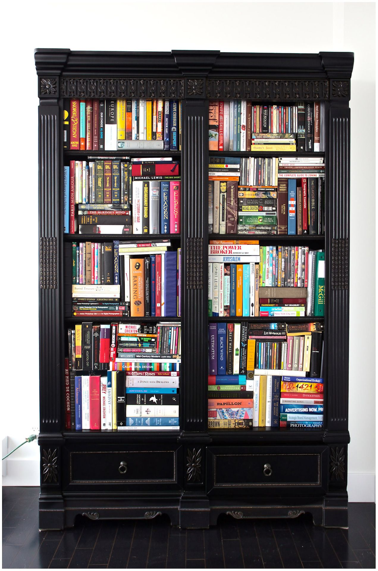 Inspiration On How To Fit More Into My Book Cabinetsexcept